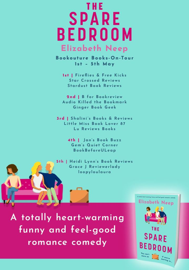 Blog Tour Banner - The Spare Bedroom, by Elizabeth Neep