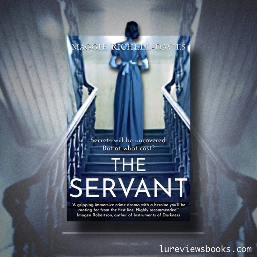 Graphic for the book The Servant by Maggie Richell-Davies