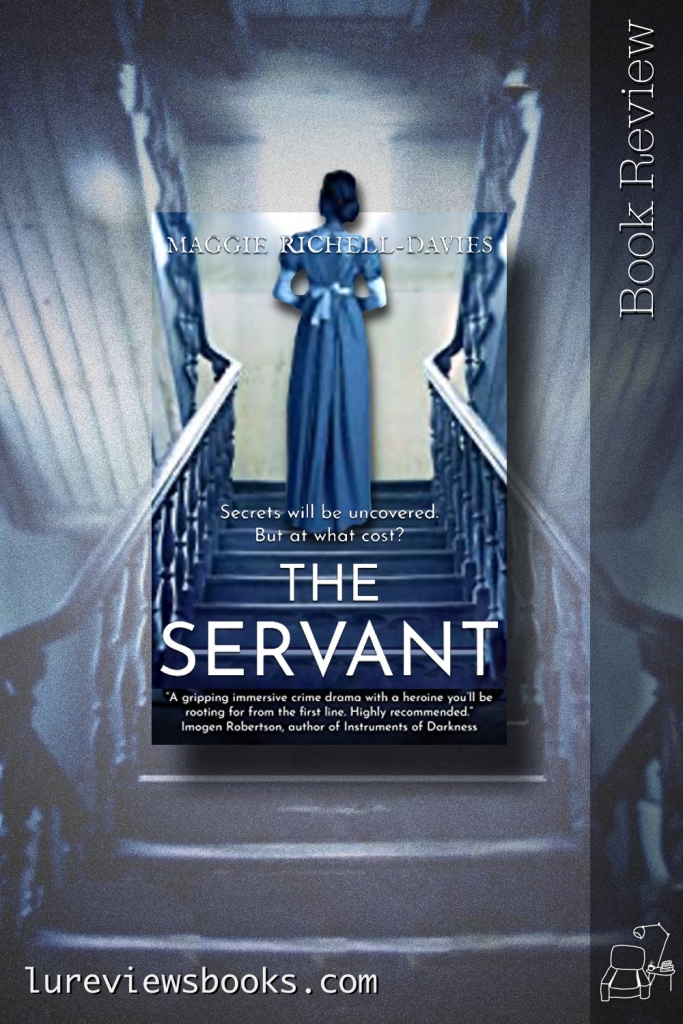 PIN for the review of the book The Servant by Maggie Richell-Davies